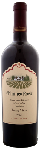 <pre>Chimney Rock Young Vines Cabernet Sauvignon Stags Leap District 2010</pre>